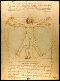 ウィトルウィフス的人体図
