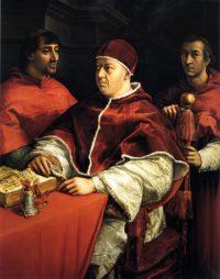 レオ10世の肖像